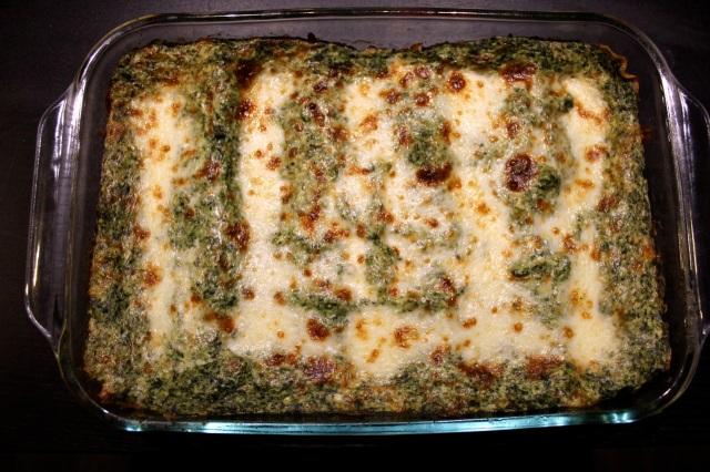 spinach-artichoke lasagna
