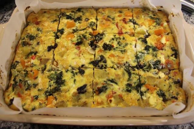 on-the-go frittata