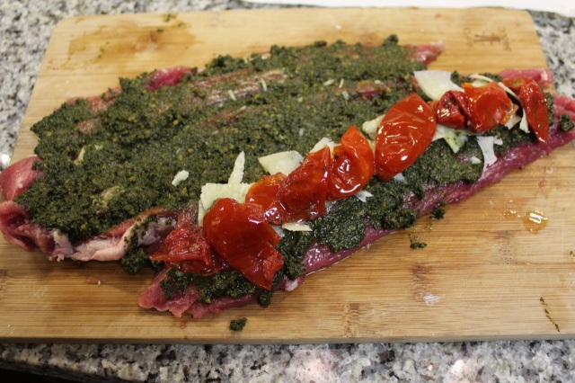 pesto pork tenderloin