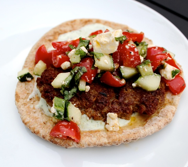 Perfect atop a lamb burger pita!