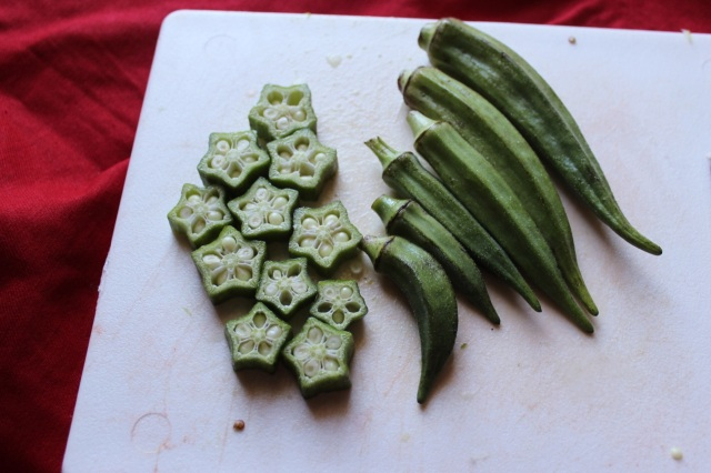 Okra is the star of this dish...get it?!