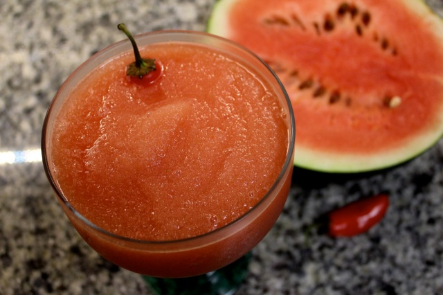 Watermelon-Jalapeno Daiquiri