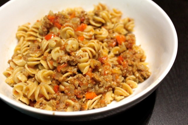 Weeknight Bolognese Sauce